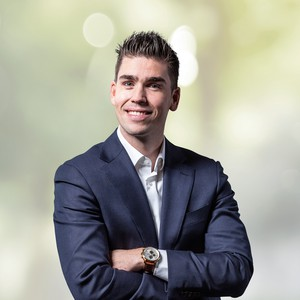 Maikel Pietens, Accountmanager new business bij Hitachi Capital Mobility Groningen