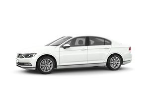 VW Passat - front