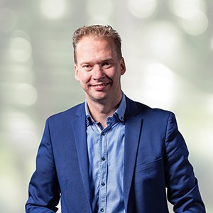 Chris Feenstra, Account Manager at Hitachi Capital Mobility Groningen