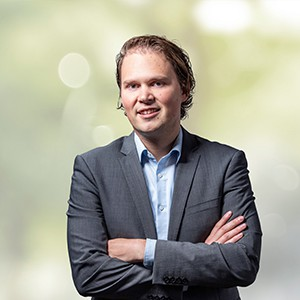 Leon Mink, Financial manager bij Hitachi Capital Mobility Groningen