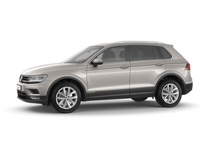 Volkswagen Tiguan - zijkant
