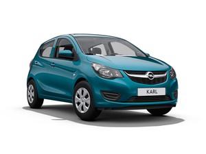 Opel Karl rood