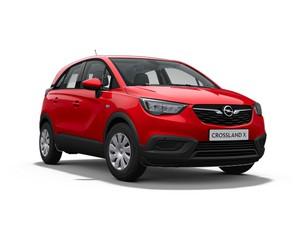 Opel Crossland - Voorkant - Rood